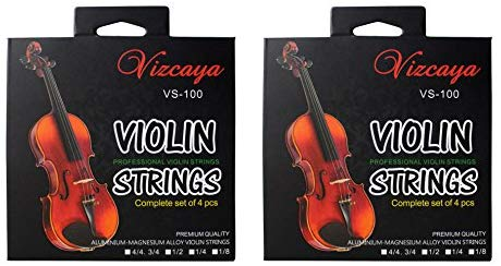Vizcaya 2 Full Sets Violin String