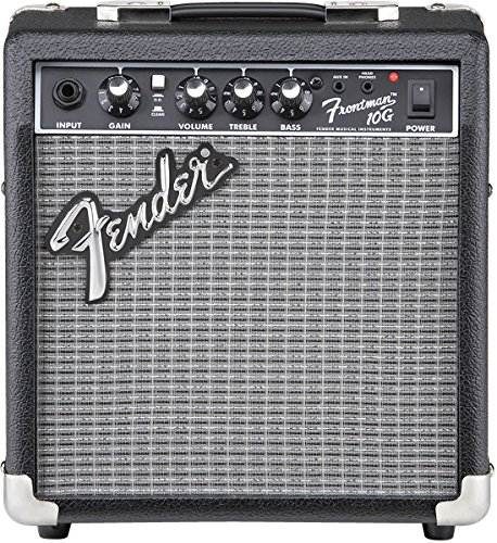 Fender Frontman 10G Electric Guitar Amplifier Bundle