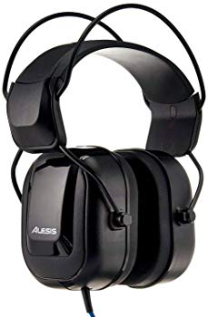 Alesis DRP100 Over-Ear Reference Headphones Built For Professional Electronic Drum Monitoring