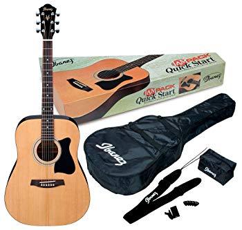 Ibanez - IJV50 - Acoustic Guitar Jampack