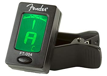 Fender Clip-On Tuner FT-004 for Guitar