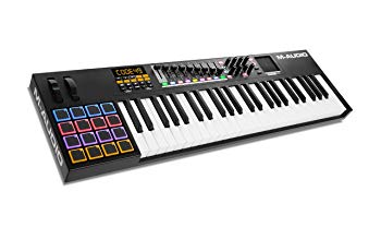 M-Audio Code 49 Black | 49-Key USB MIDI Keyboard Controller
