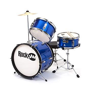RockJam RJ103-MB 3-Piece Junior Drum Set