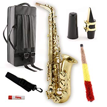 Legacy AS750 Student/Intermediate Alto Saxophone with Case