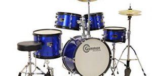 Gammon 5-Piece Junior Starter Drum Kit With Cymbals, Hardware, Sticks, Throne.