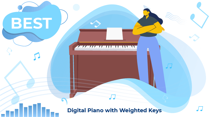 digital pianos weighted keys