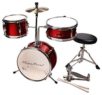 Spectrum AIL 621R 3-Piece Junior Drum Set