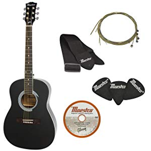 Maestro by Gibson Parlor Size Acoustic Guitar