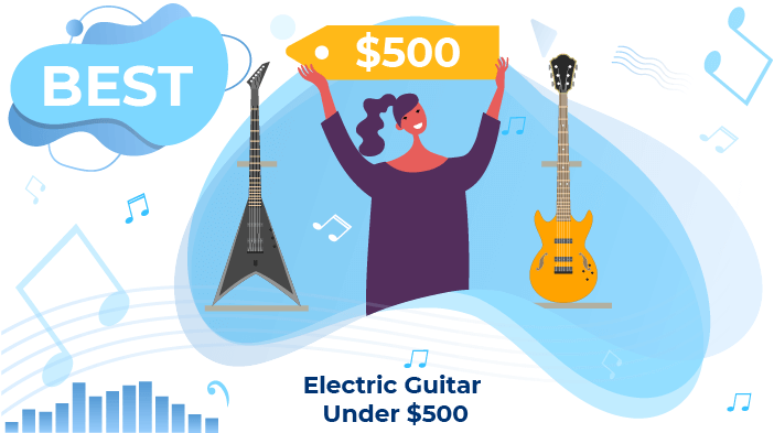 electric guitars under 500