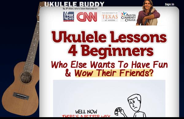 Uke Buddy Homepage